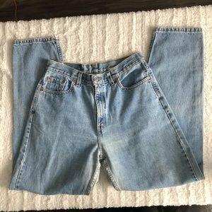 Vintage high waisted mom jeans (Levi's)